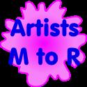 Artists M-R