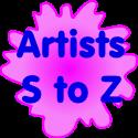 Artists S-Z
