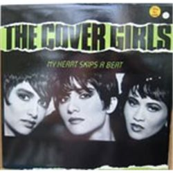 """Cover Girls, The / My Heart Skips a Beat (Cut Promo) (12"""")"""