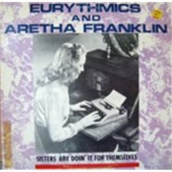 """Eurythmics / Sisters are Doin' It For Themselves (with Aretha Franklin) (12"""")"""