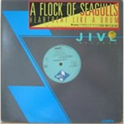 """Flock of Seagulls, A / Heartbeat Like A Drum (Promo) (12"""")"""