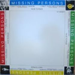 "Missing Persons / I Can't Think about Dancing (12"")"