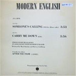"Modern English / Someone's Calling (Promo) (12"")"