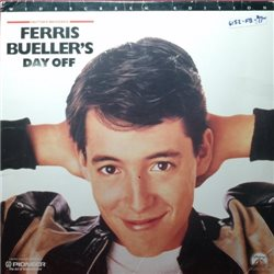 Ferris Bueller's Day Off (Letterboxed) (LaserDisc)
