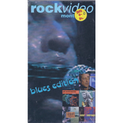Rock Video Monthly - Blues Edition Fall 1995 (VHS) (Sealed)
