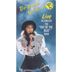 "Gibson, Debbie / Live in Concert - ""The Out of the Blue"" Tour (VHS)"