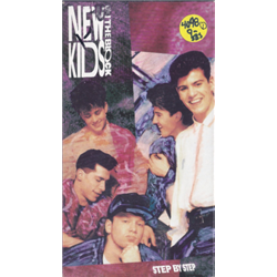 New Kids on the Block / Step by Step (VHS)