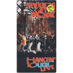New Kids on the Block / Hangin' Tough Live (VHS)