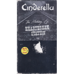 Cinderella / The Making of Heartbreak Station (VHS)