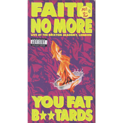 Faith No More / Live at Brixton Academy, London - You Fat B**tards (VHS)