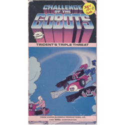 Challenge of the Gobots: Trident's Triple Threat (VHS)