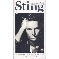 Sting / ...Nothing Like the Sun: The Videos (Gatefold Cover) (VHS)