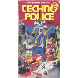 Techno Police (Anime) (VHS)