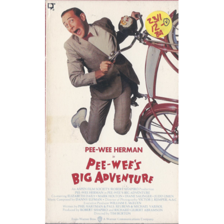 Pee-Wee's Big Adventure (Beta)