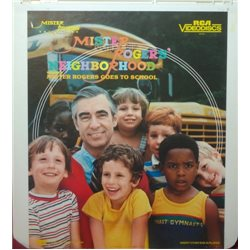 Mister Rogers' Neighborhood: Volume 2 - Mister Rogers Goes to School (CED Videodisc)