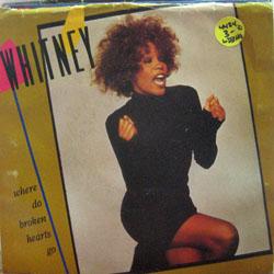 "Houston, Whitney / Where Do Broken Hearts Go (7"")"