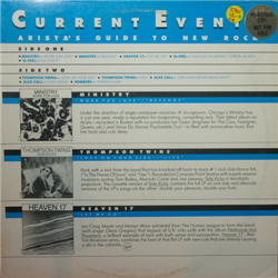 Various Artists / Current Events: Arista's Guide (LP)